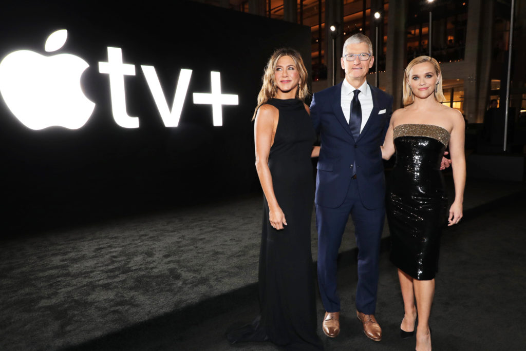 Tim Cook, Jennifer Aniston, Reese Witherspoon